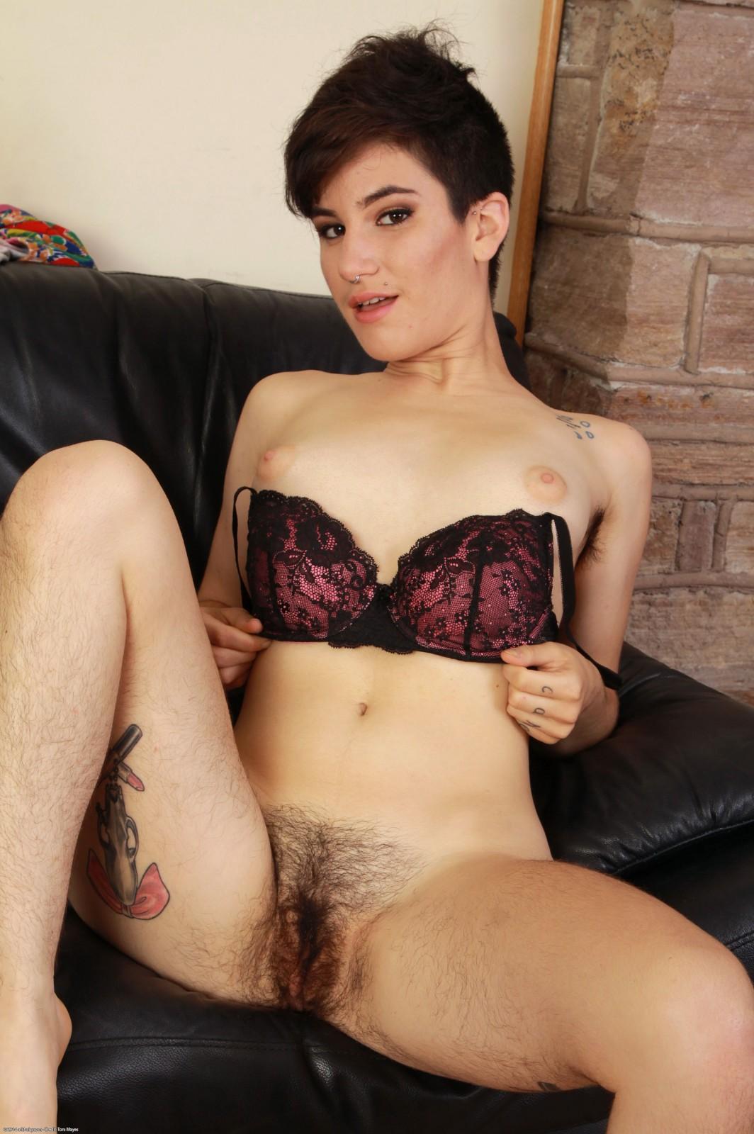 Nude Hairy